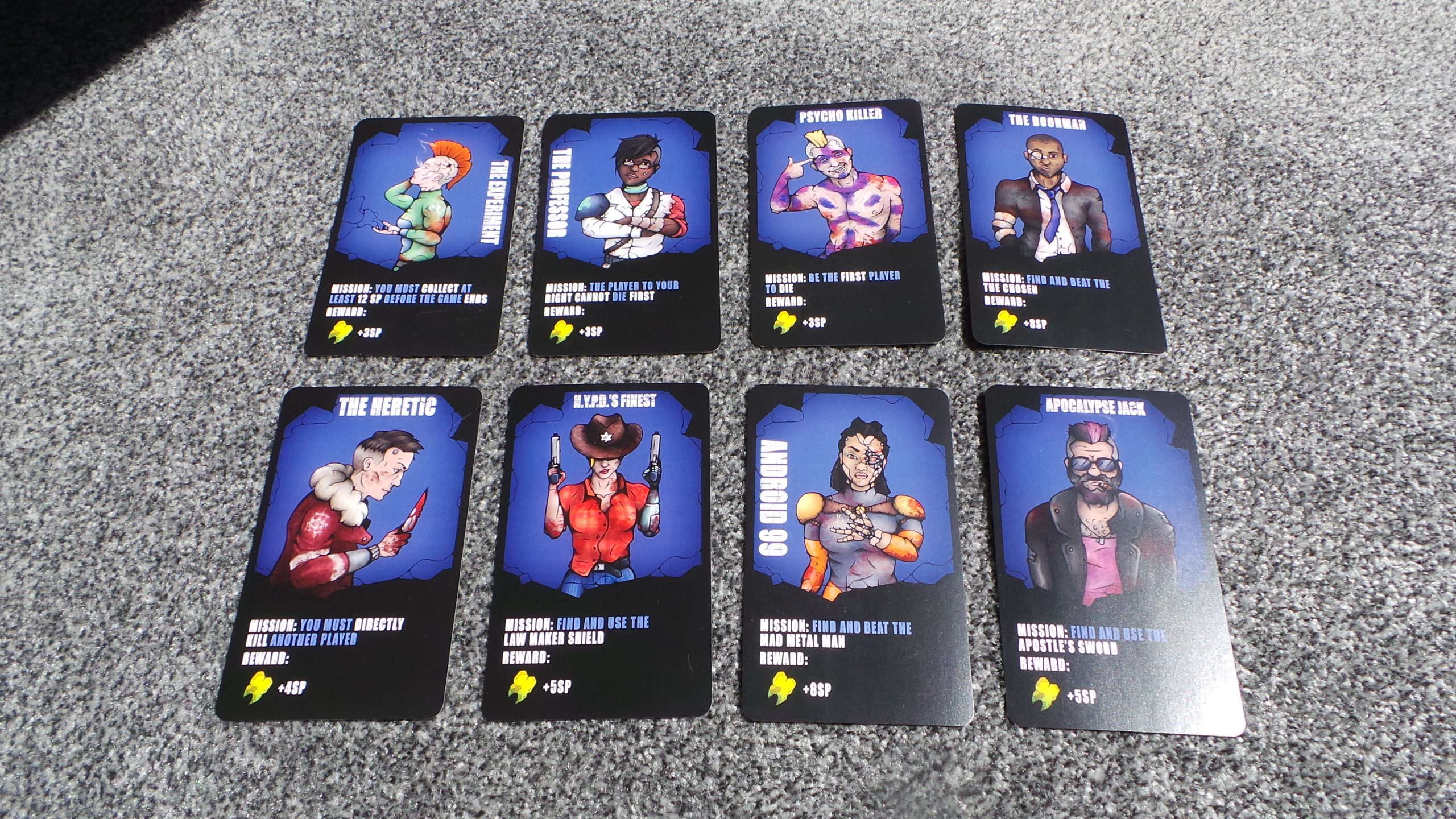 Red New York: Character Cards Image