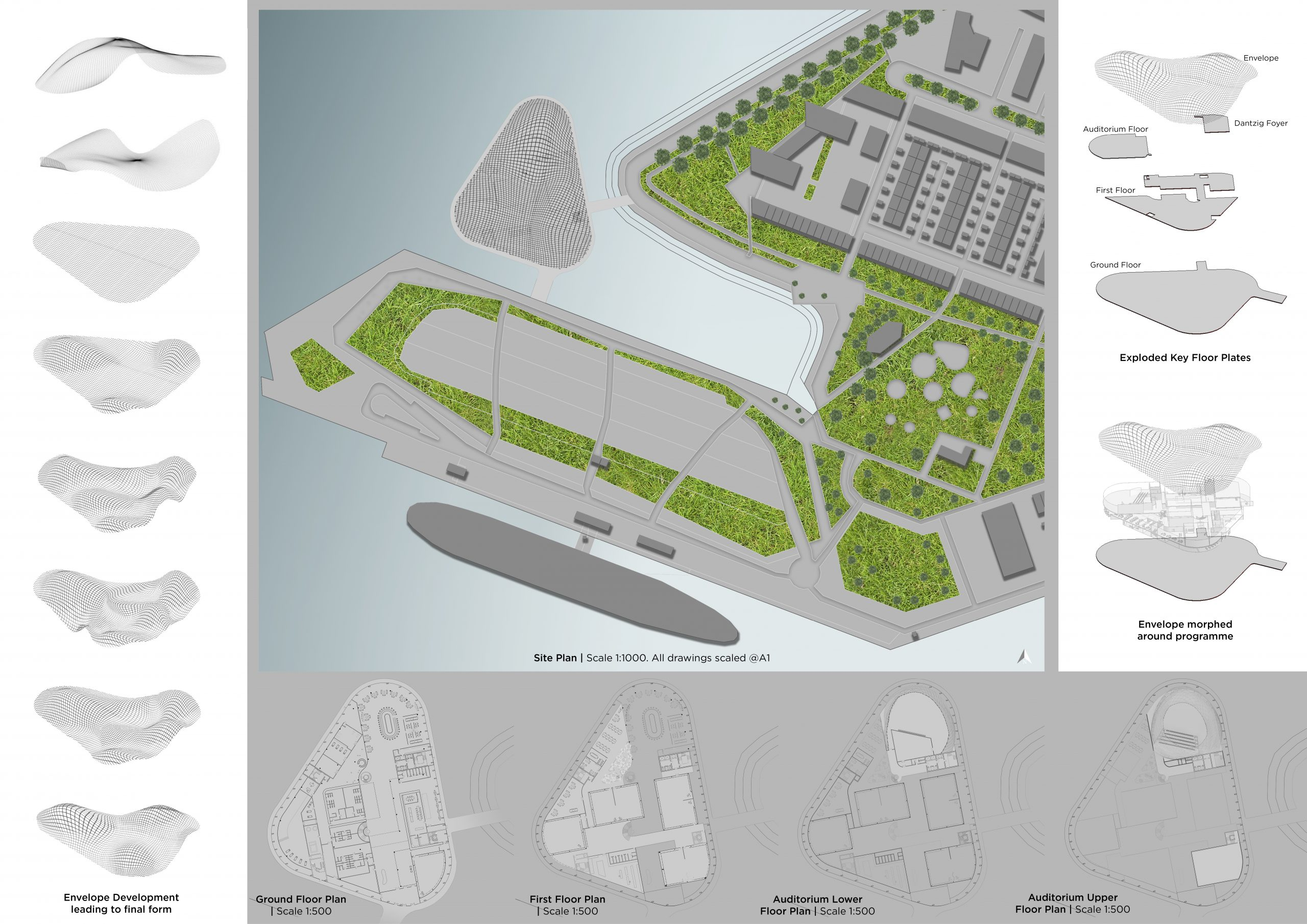 Site Plan   Scale 1:1000 @A1 Image
