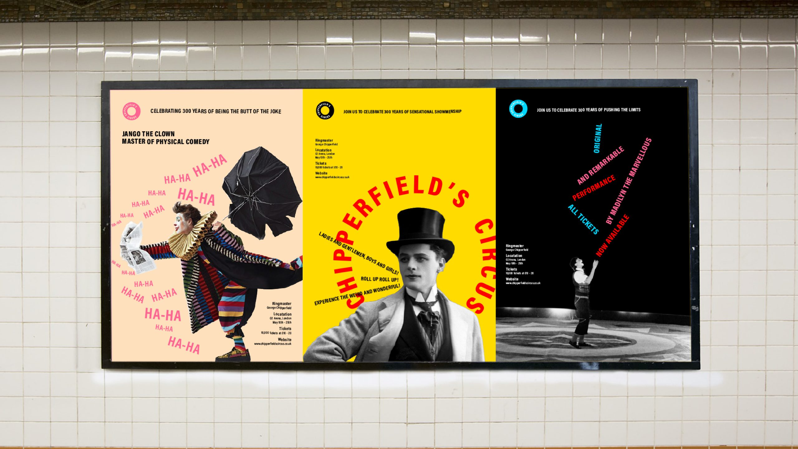 Chipperfield Circus - Self initiated project Image