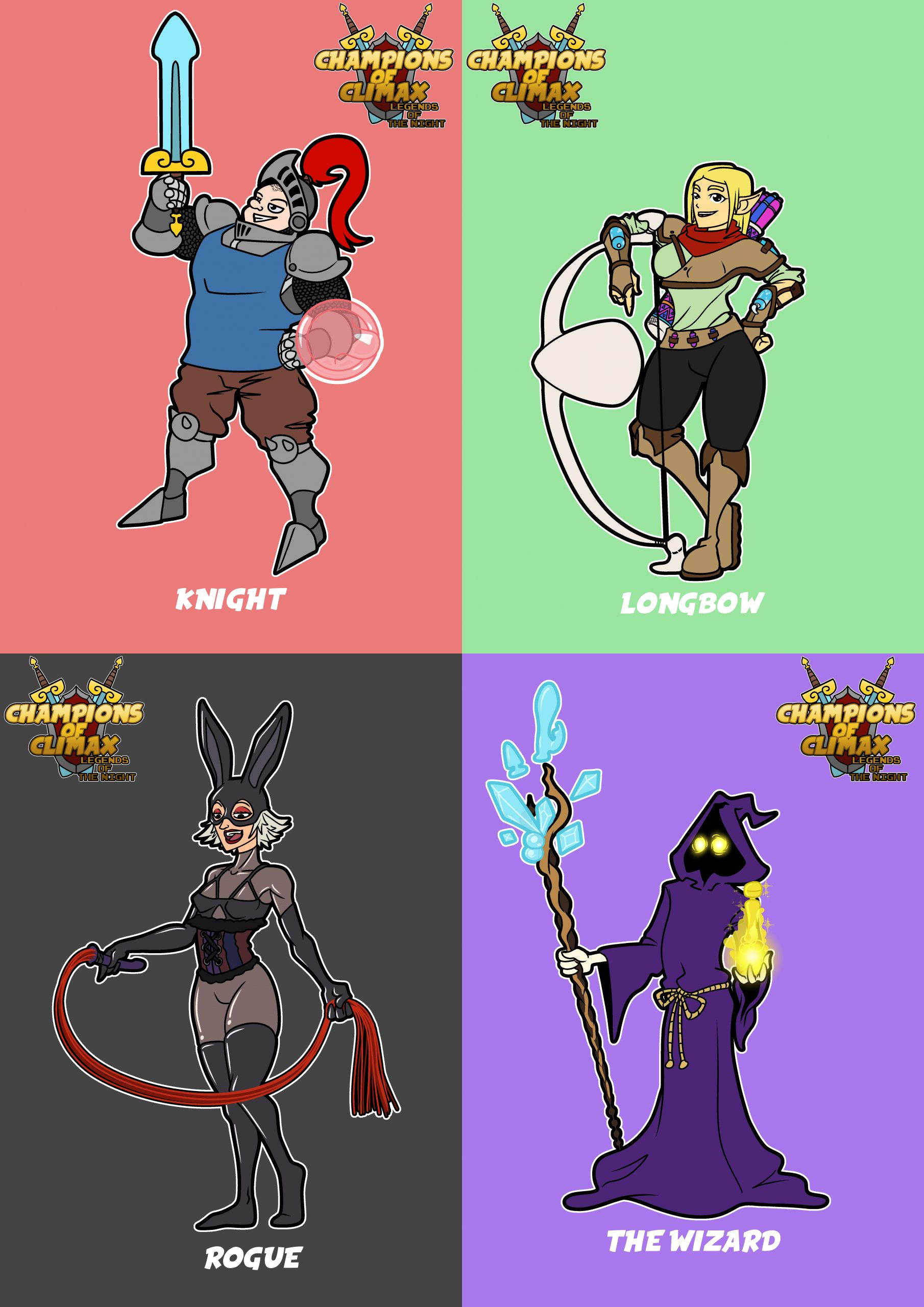 Champions of Climax - Characters Image