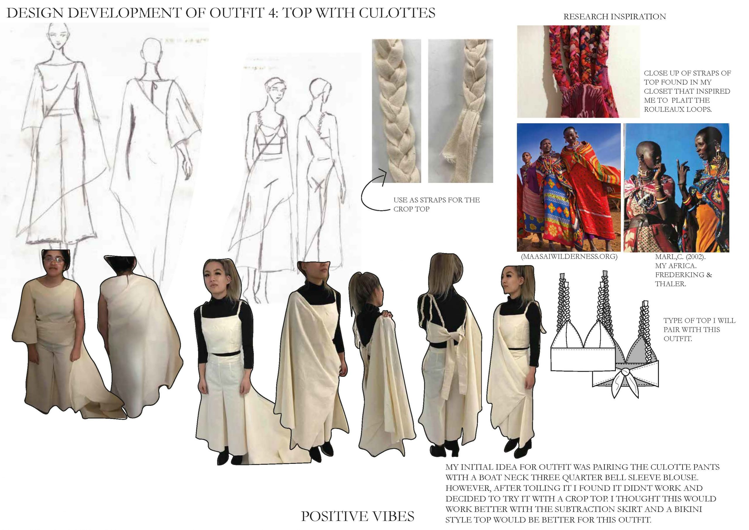 Positive Vibes Design Development of Outfit Four Image
