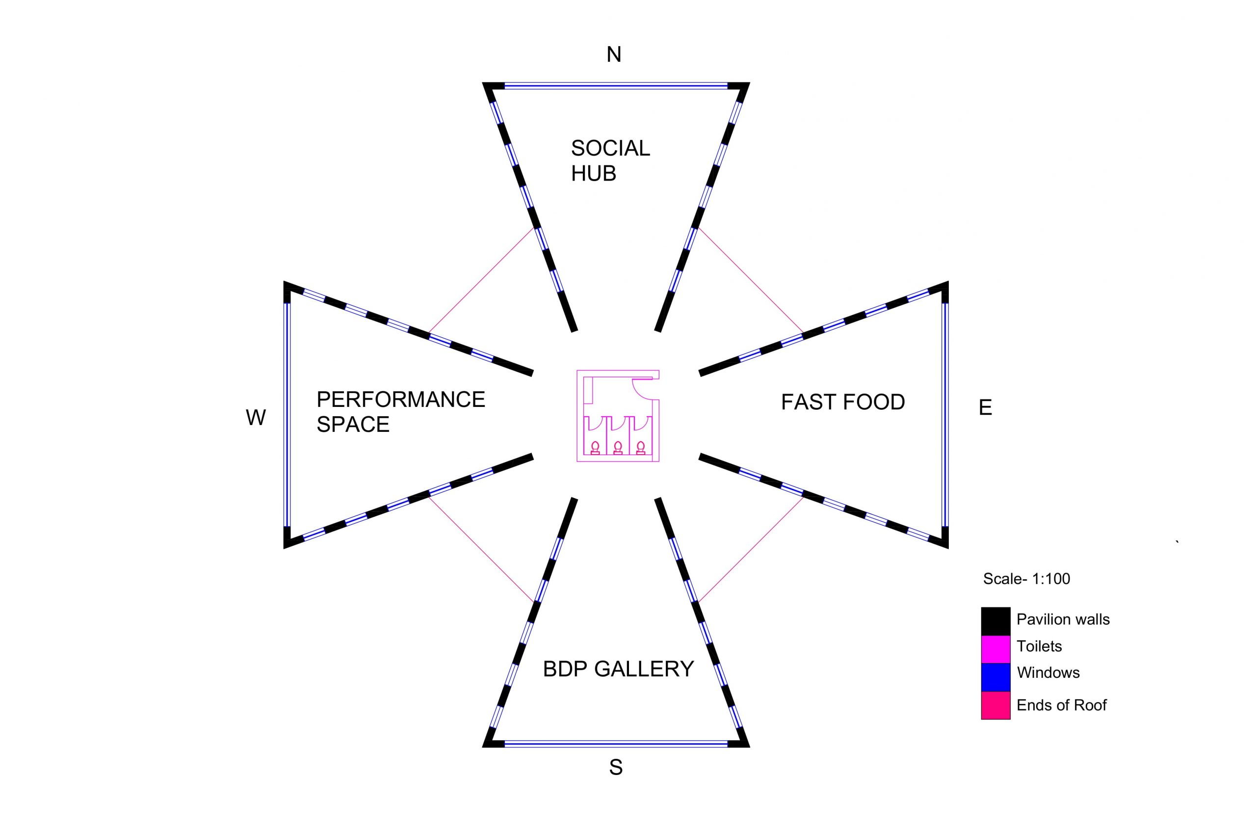 Floor Plan for Third Intermediary Model Image
