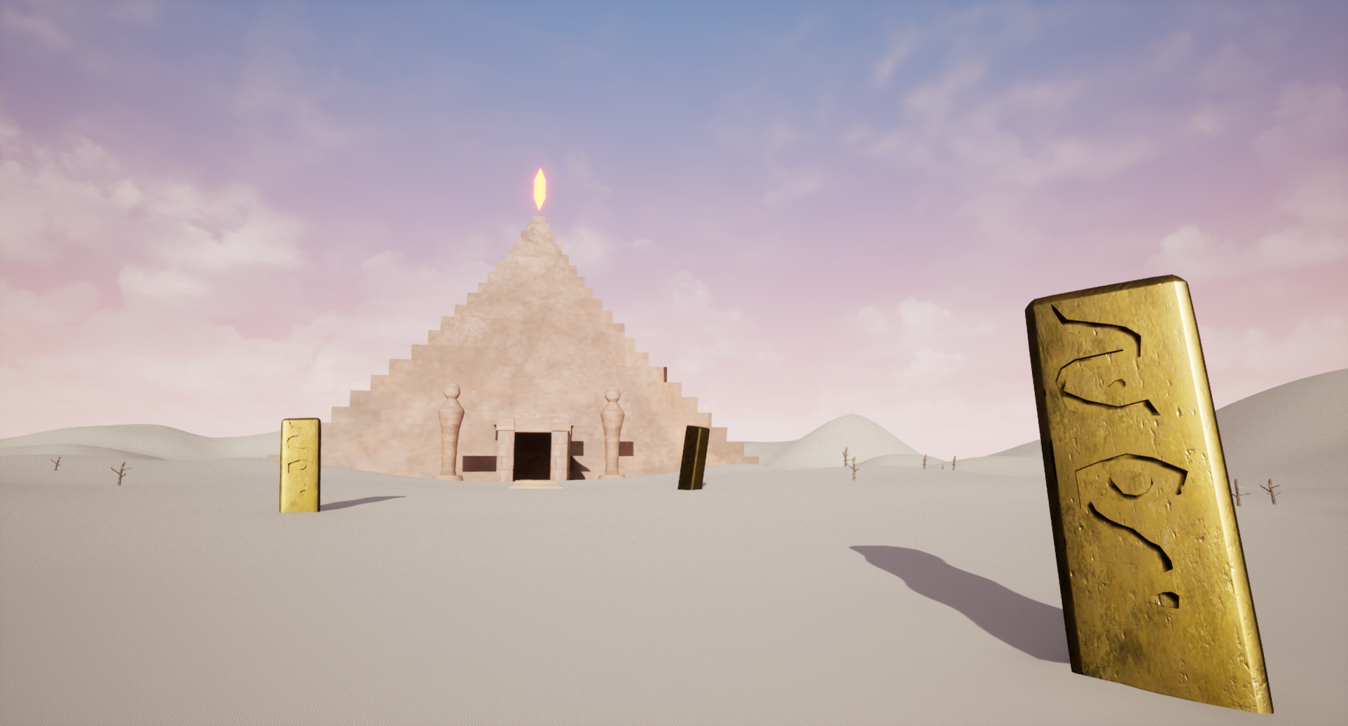 Lost Elements - Desert Pyramid Level Image