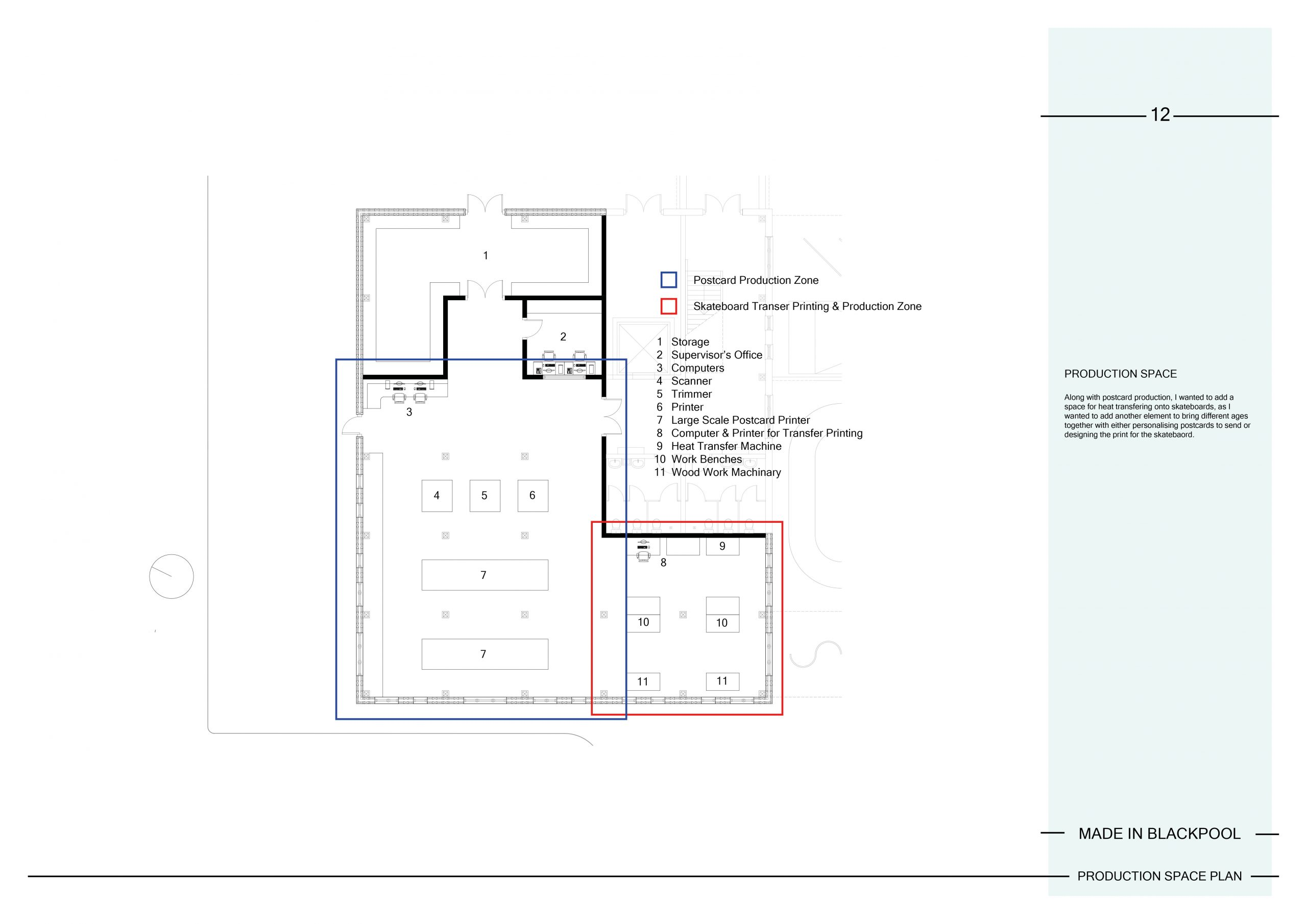 12 Production Space Plan Image