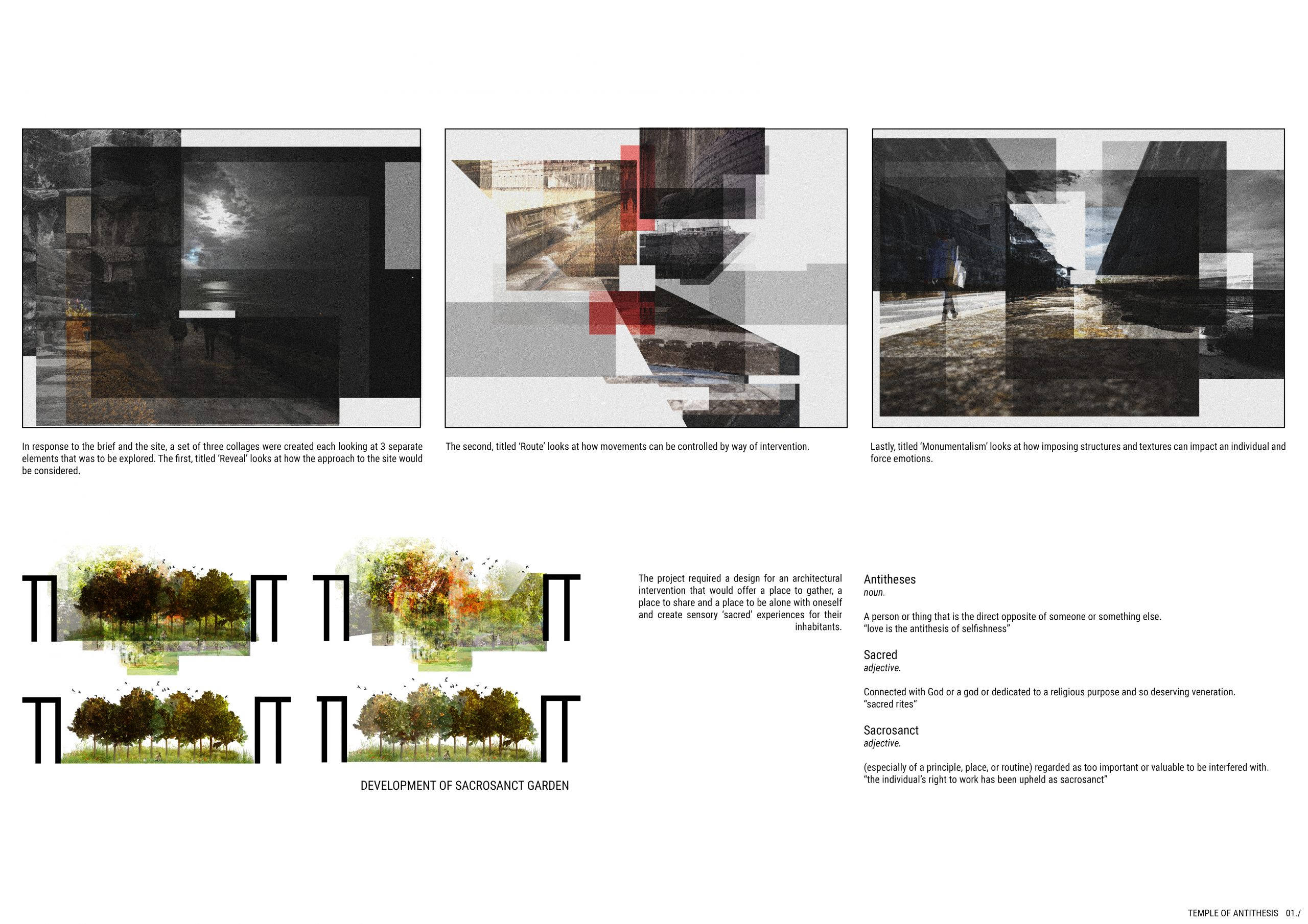 Project 1: Temple of Antithese. 01./ Image