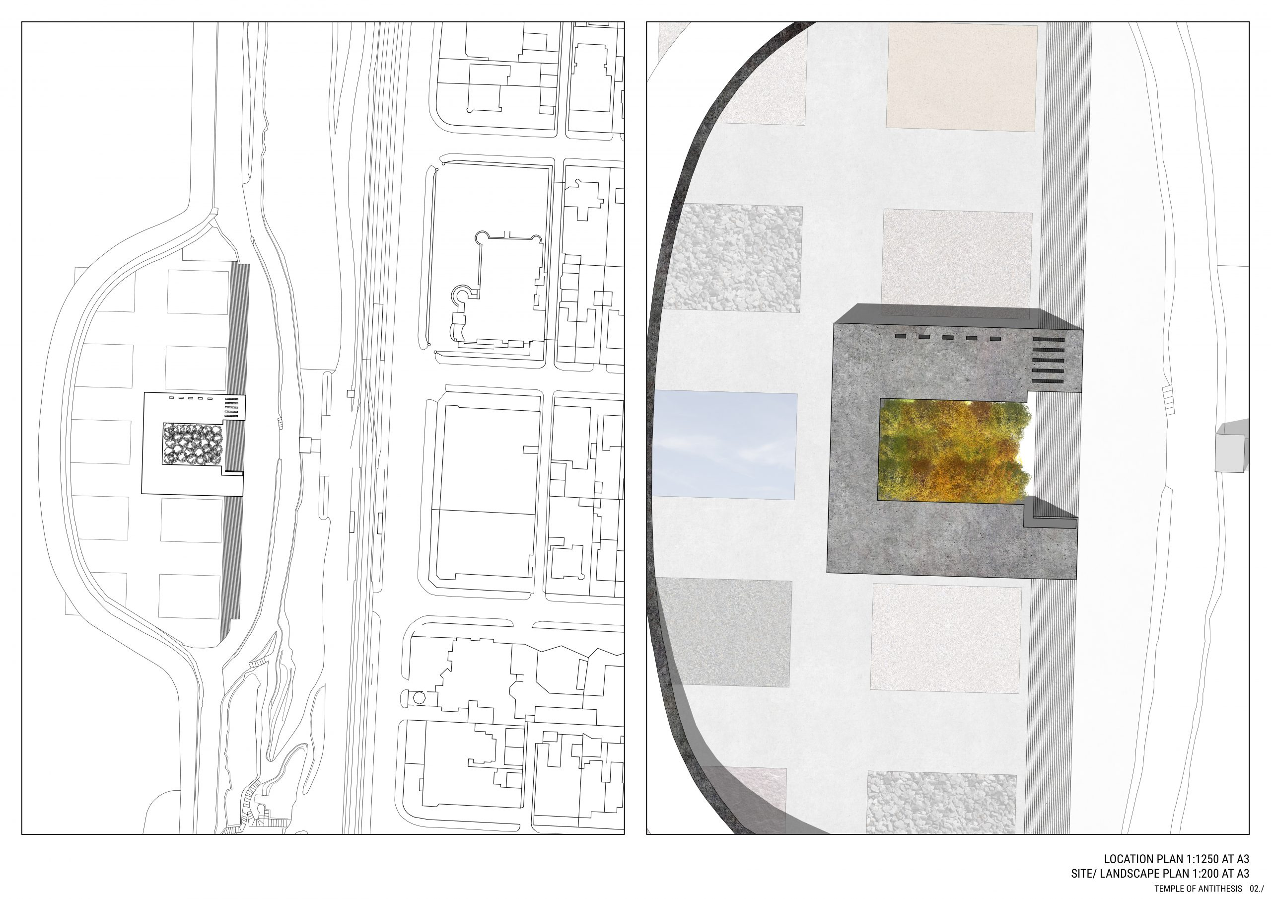 Site Location and Landscape Plan. 02./ Image