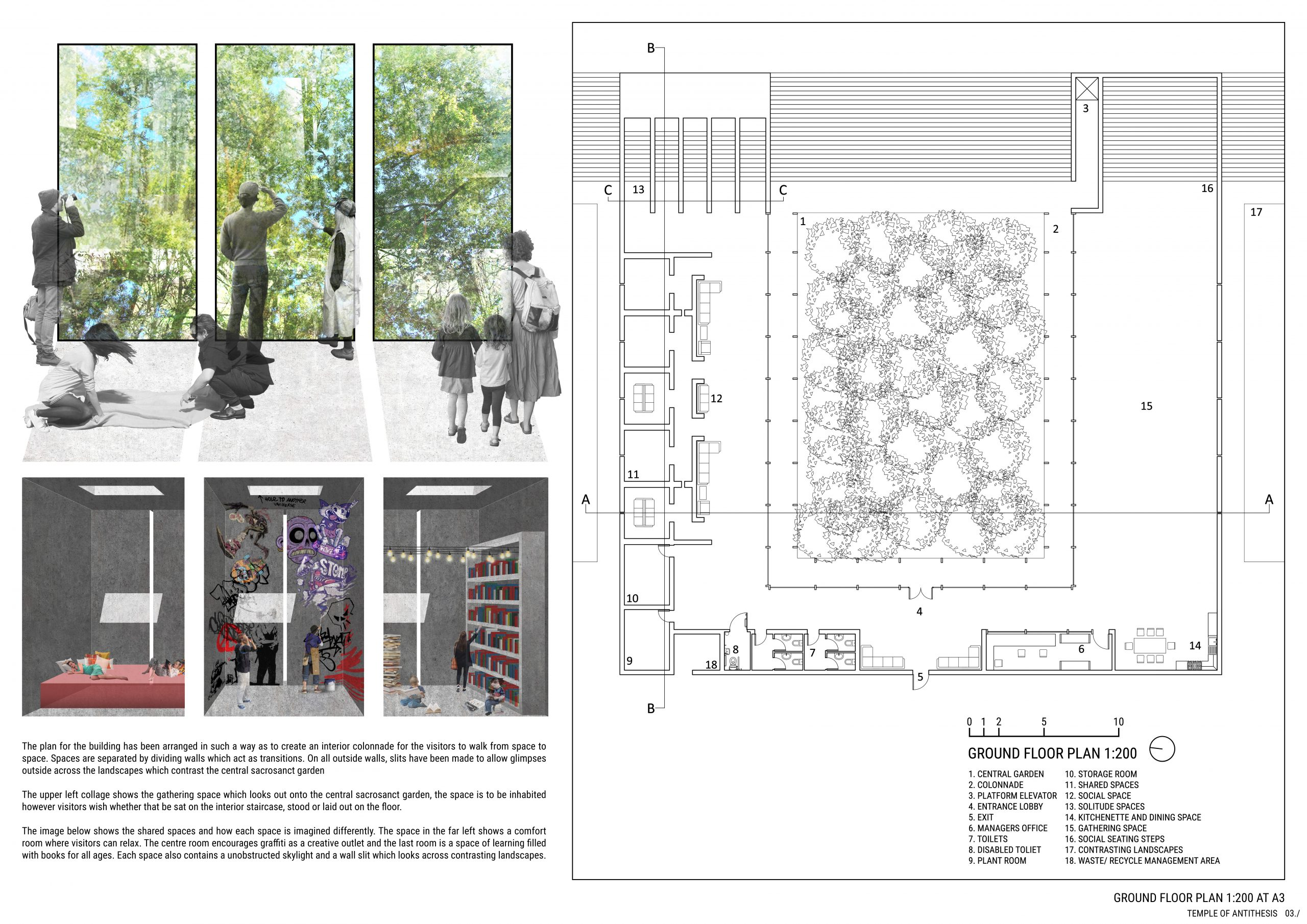 Interior Spaces and Floor Plan. 03./ Image