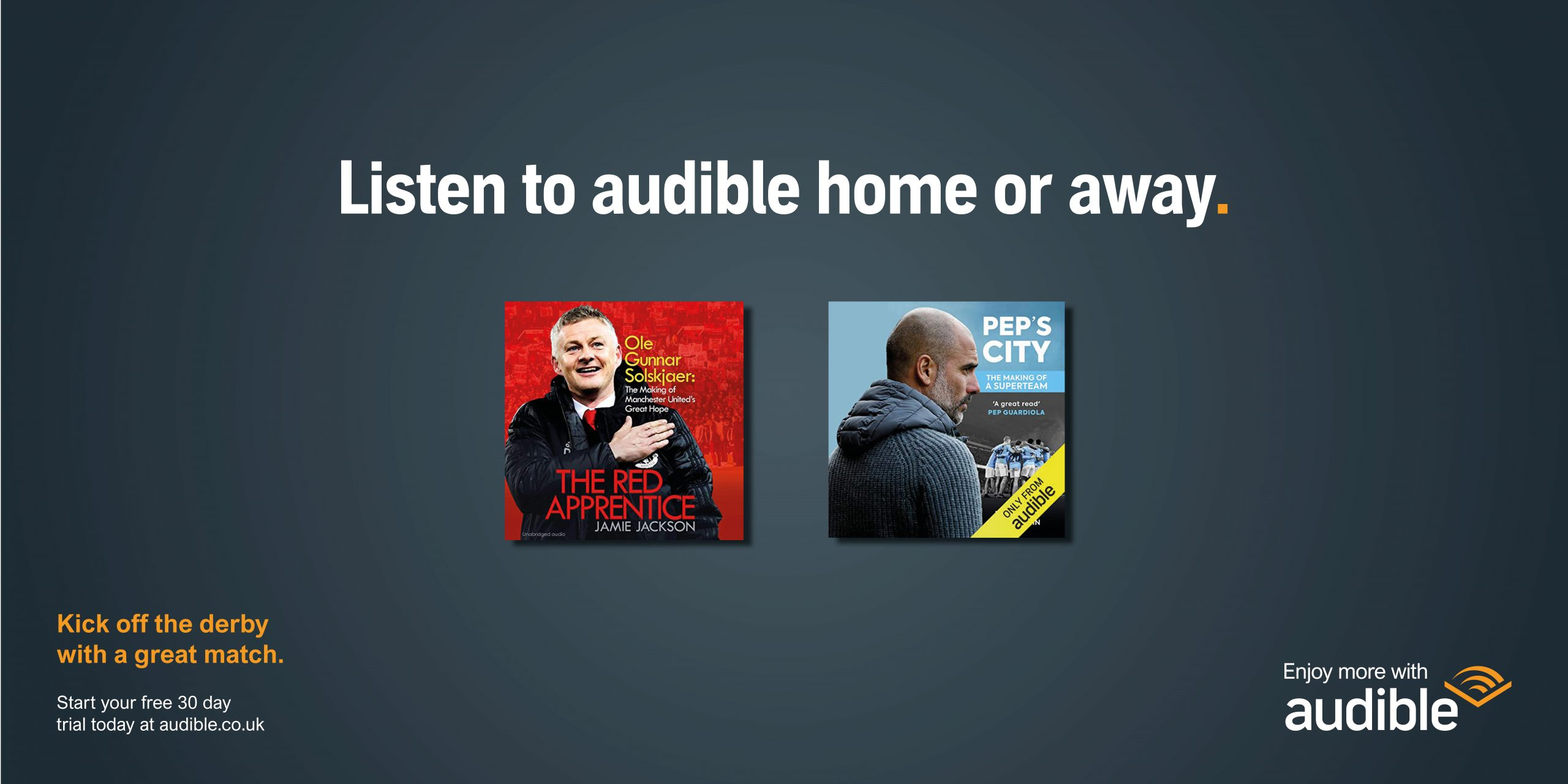 Enjoy more with audible Image