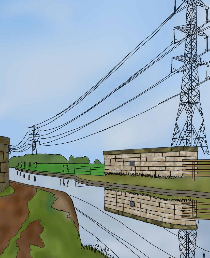 Lancaster Canal, March 2021 Image