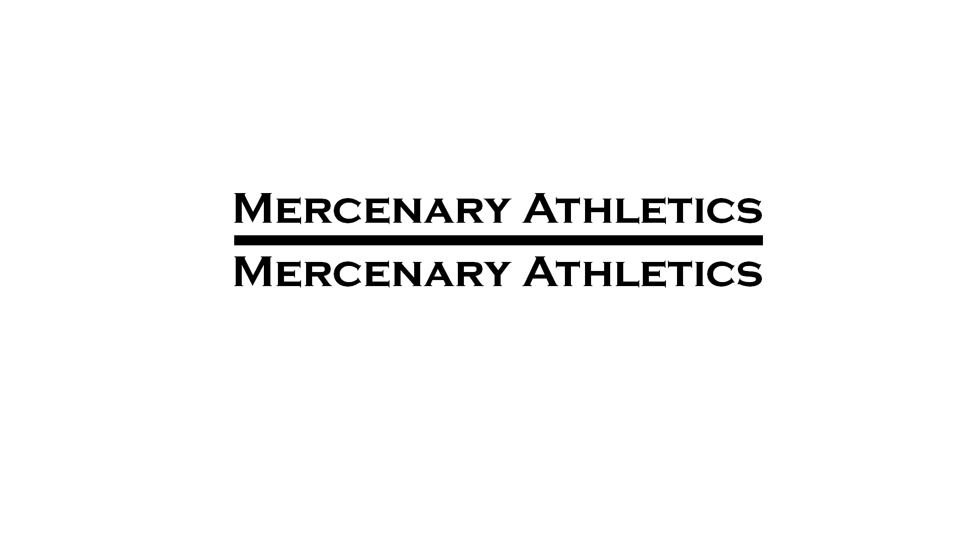 Mercenary Athletics (Bottle design) Image