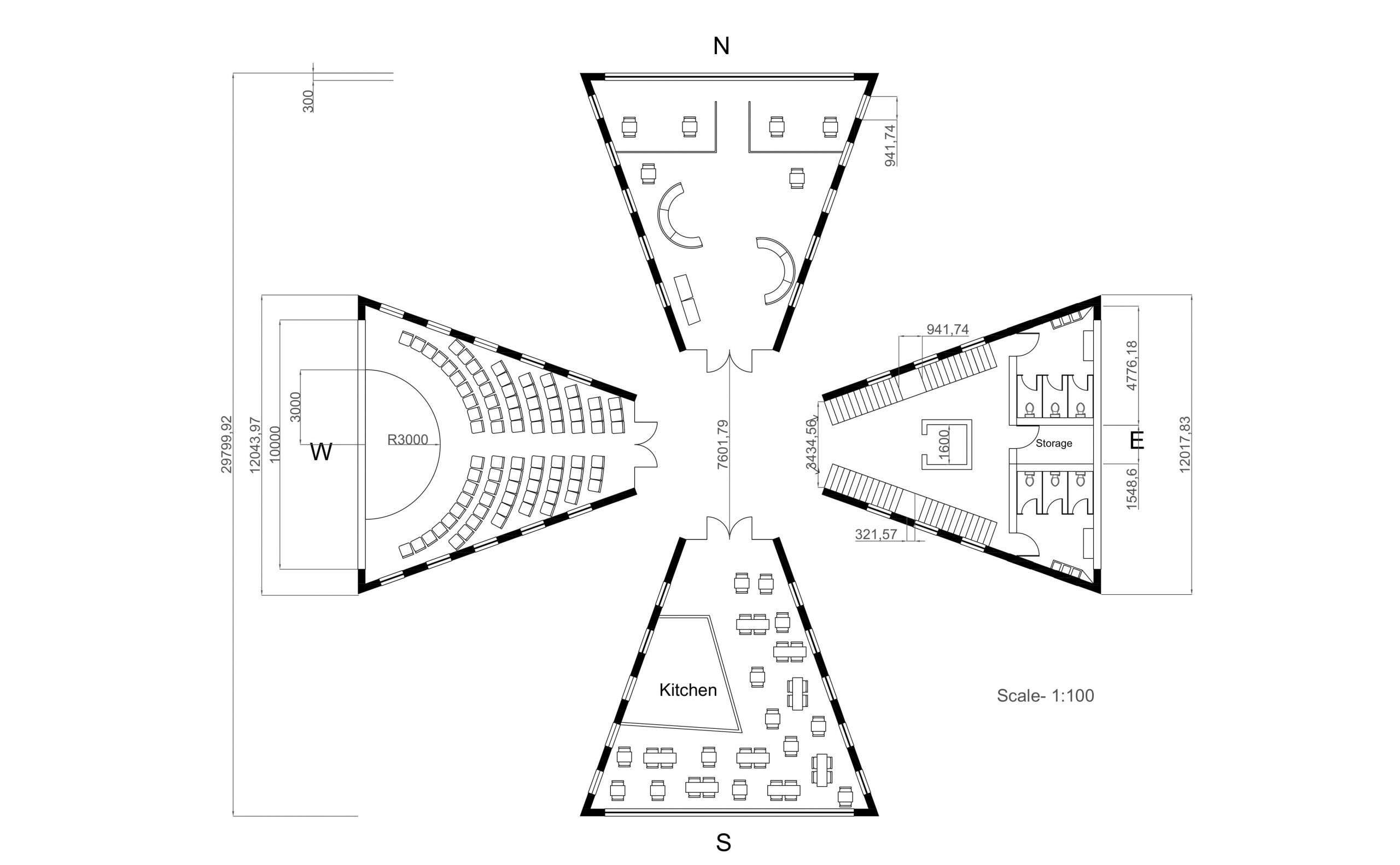 Ground Floor of Fifth Intermediary Design Image