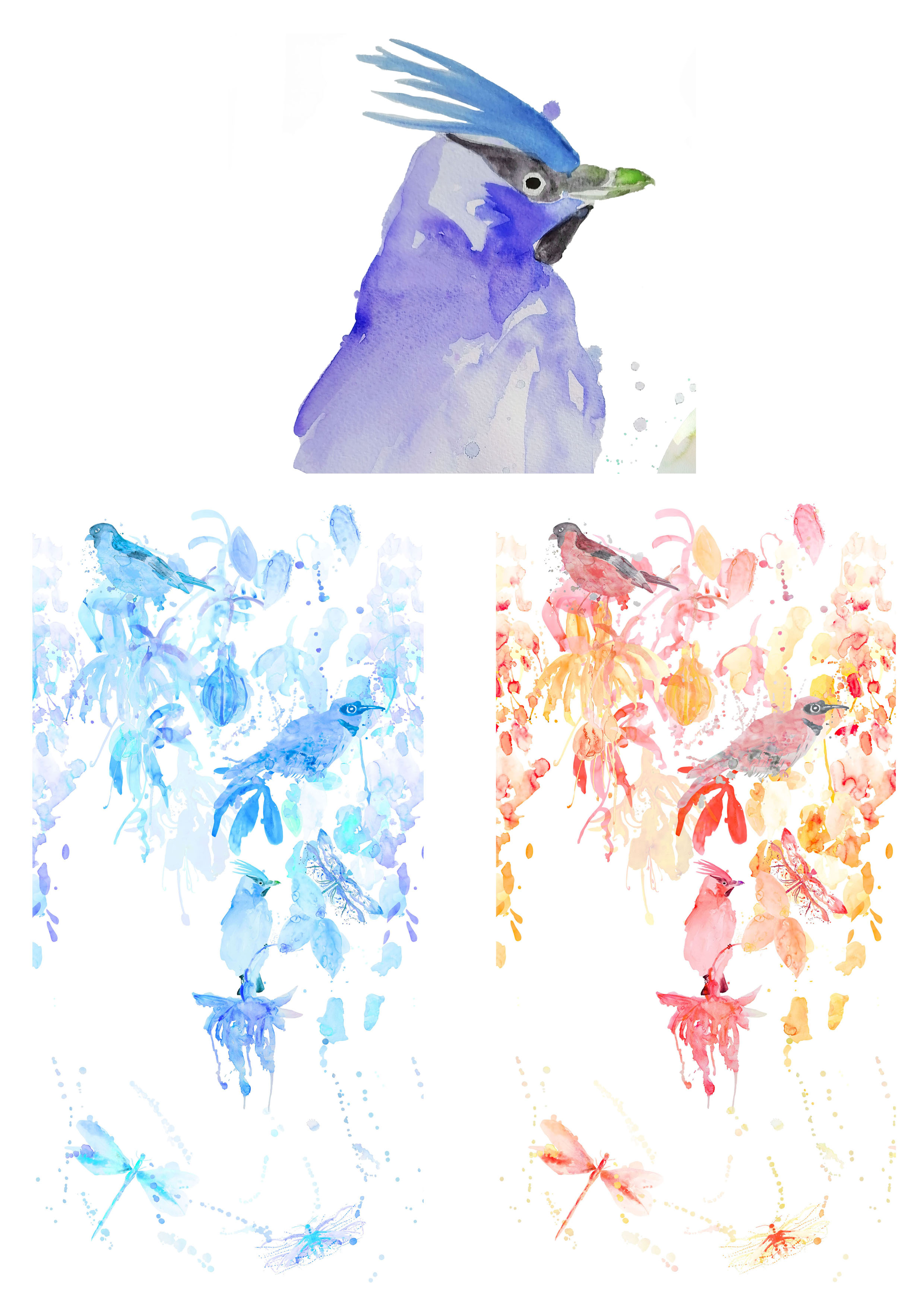 """""""Watercolour Impressions"""" Variations Image"""