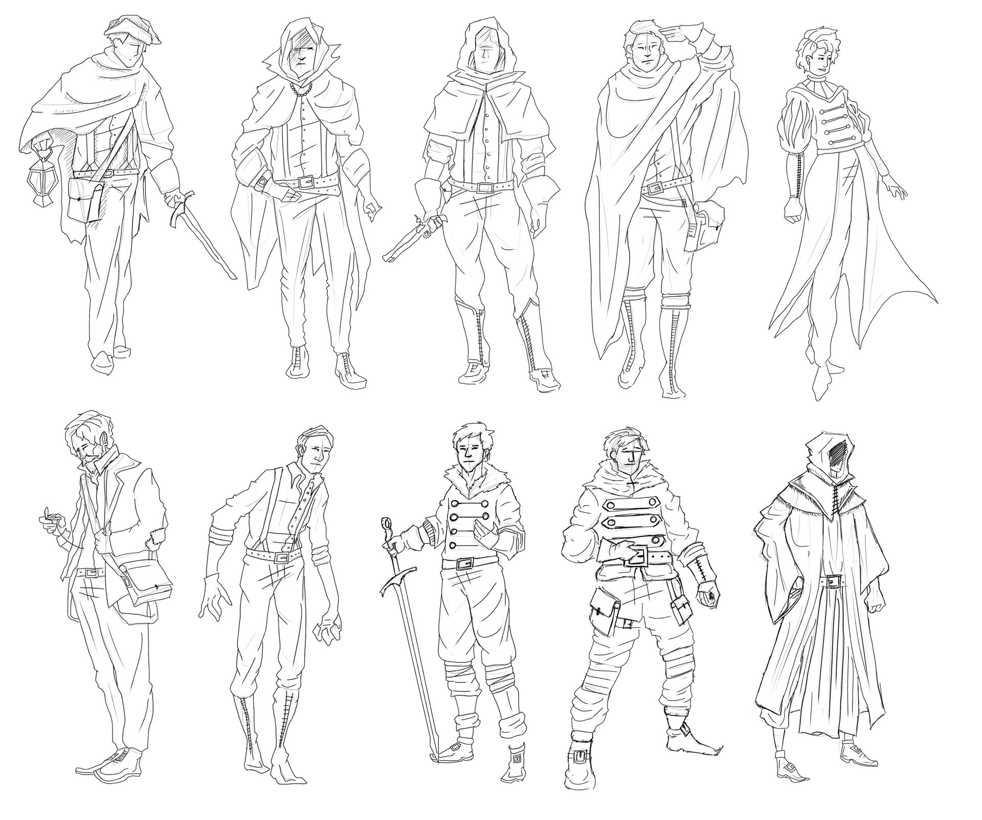 Victorian Gothic Character Exploration 10 Image
