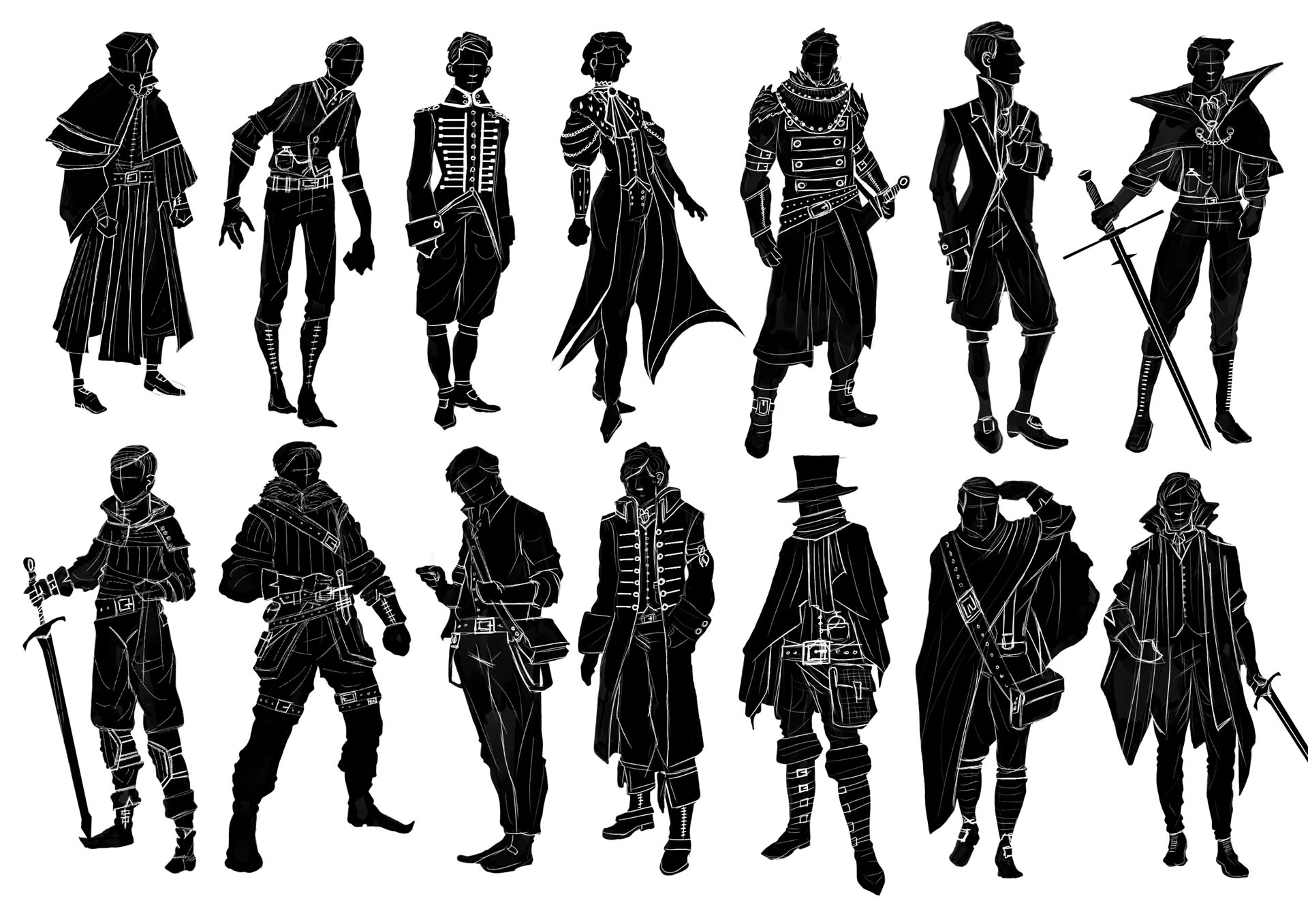 Victorian Gothic Character Exploration 13 Image