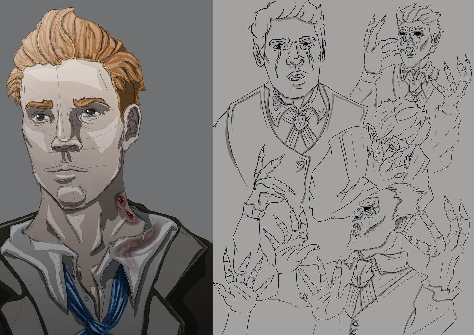 Victorian Gothic Character Exploration 14 Image