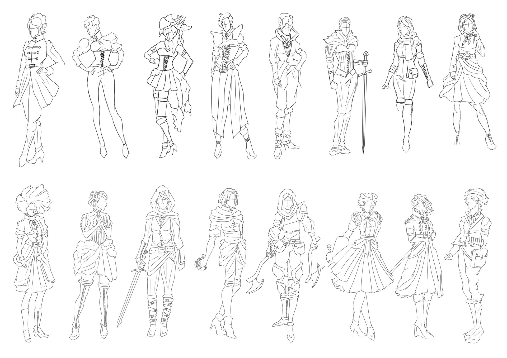 Victorian Gothic Character Exploration 15 Image