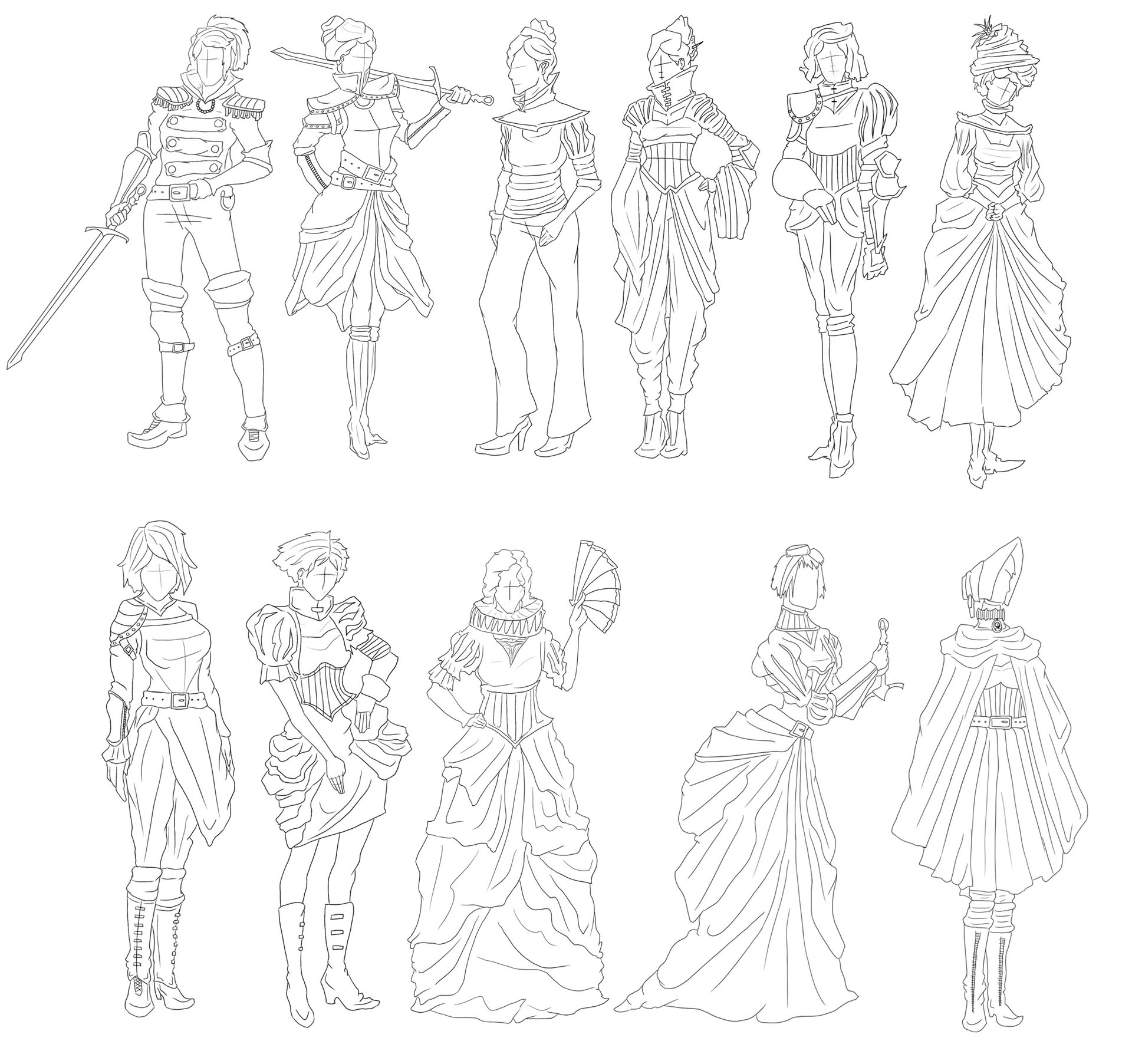 Victorian Gothic Character Exploration 16 Image