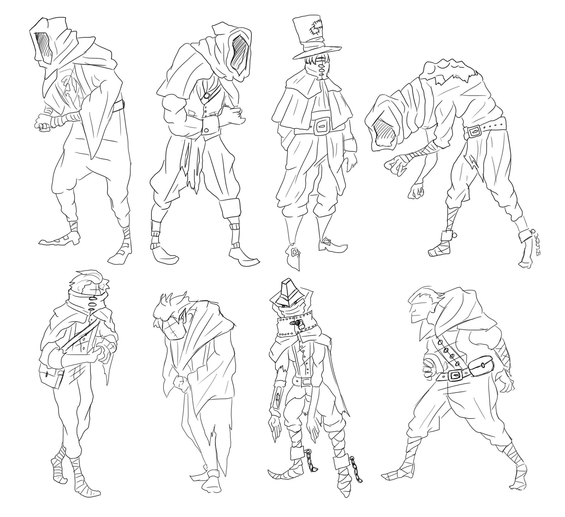 Victorian Gothic Character Exploration 19 Image
