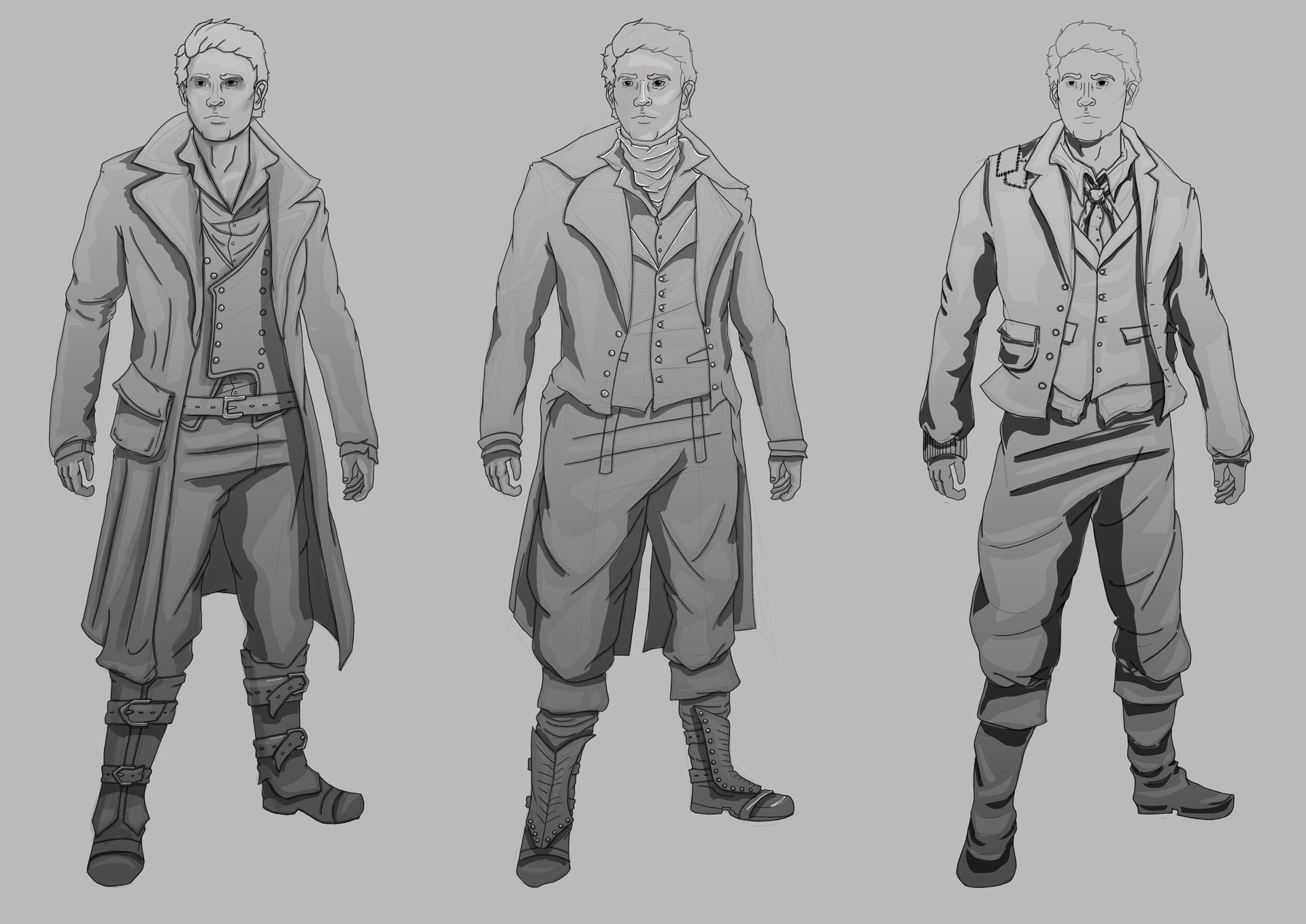 Victorian Gothic Character Exploration 21 Image