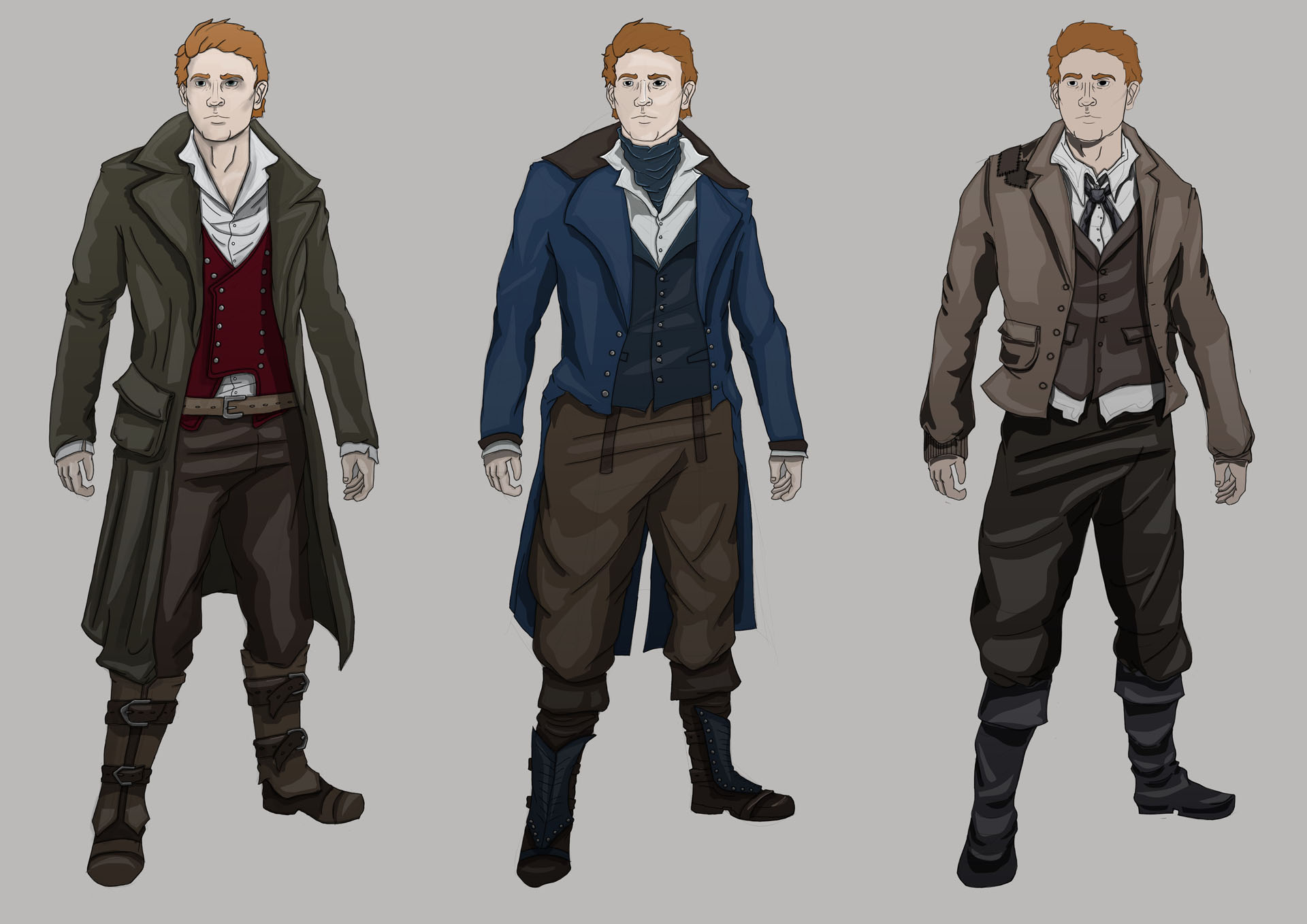 Victorian Gothic Character Exploration 22 Image