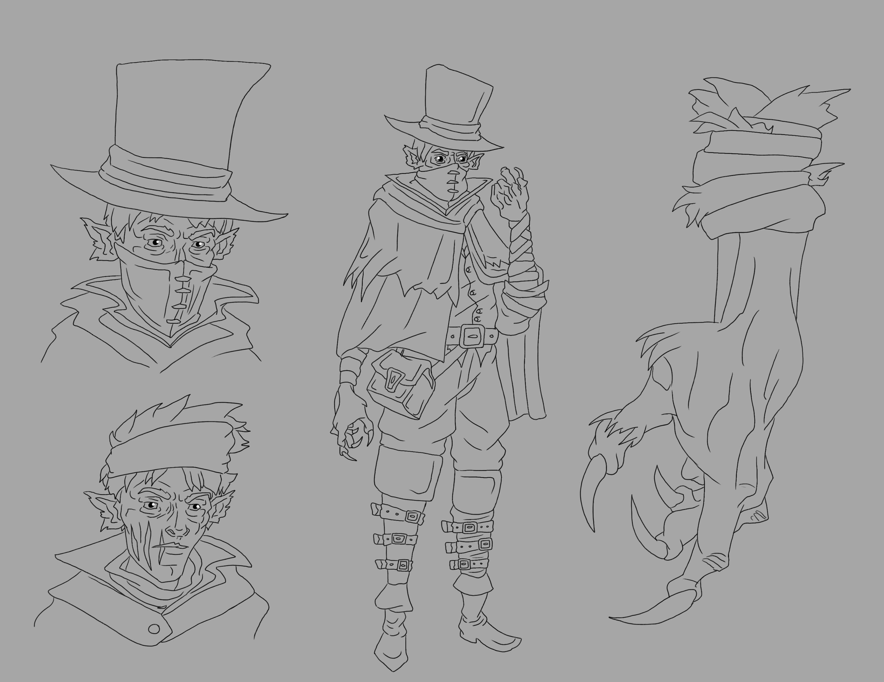 Victorian Gothic Character Exploration 4 Image