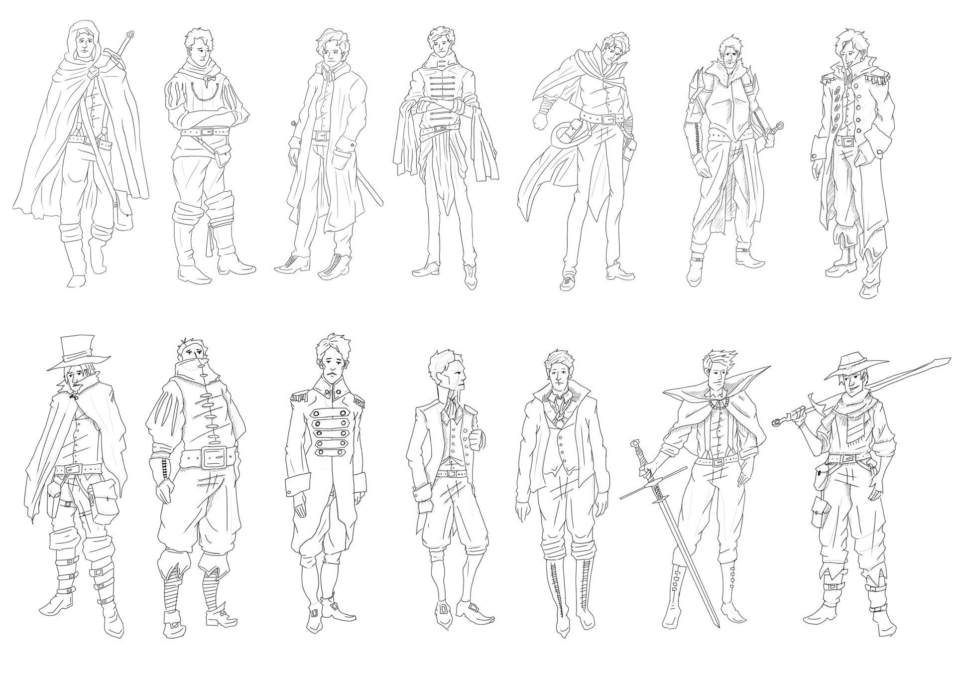 Victorian Gothic Character Exploration 9 Image
