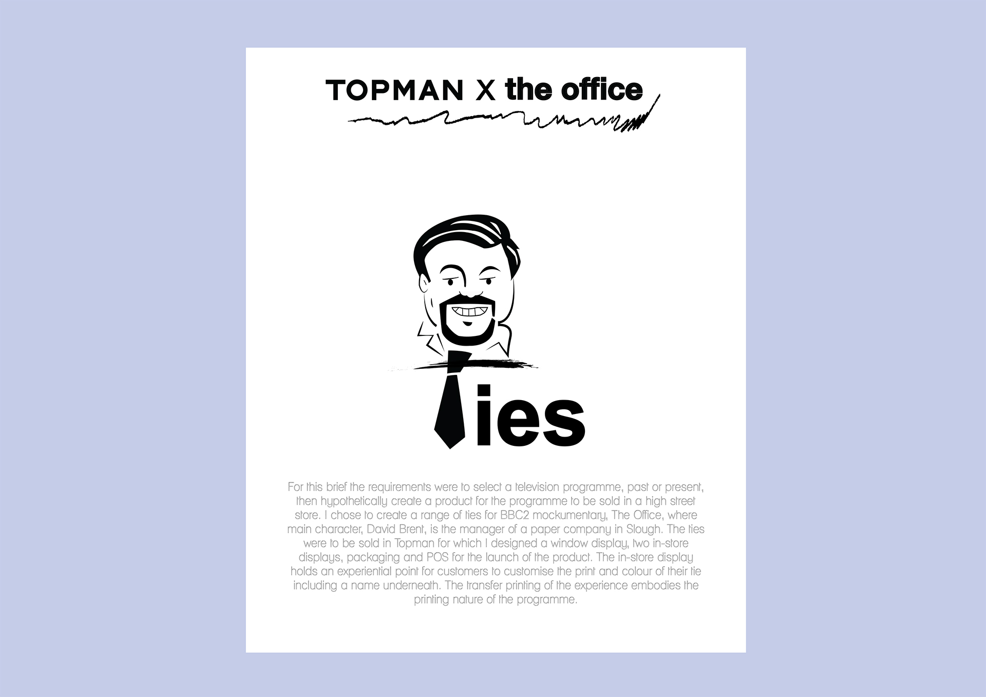 The Office Ties for Topman Image