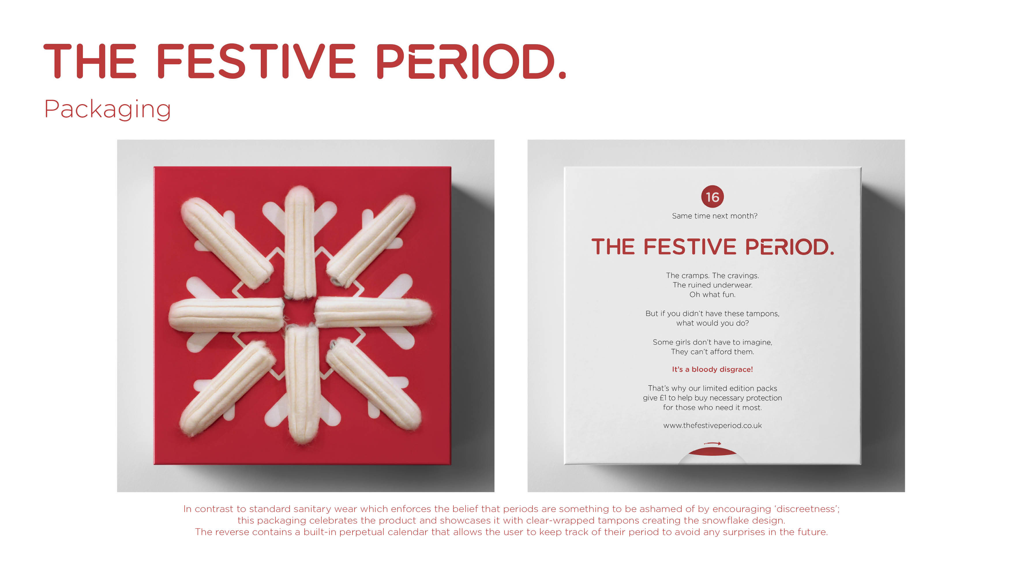 The Festive Period - Packaging Image