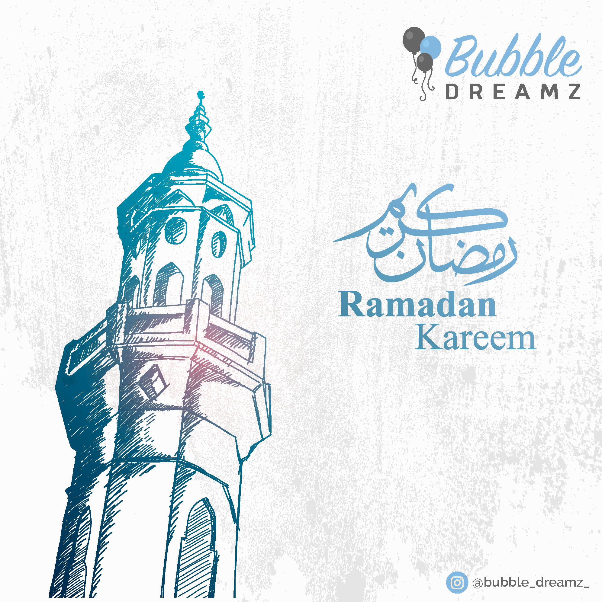 Ramadaan greetings card Image