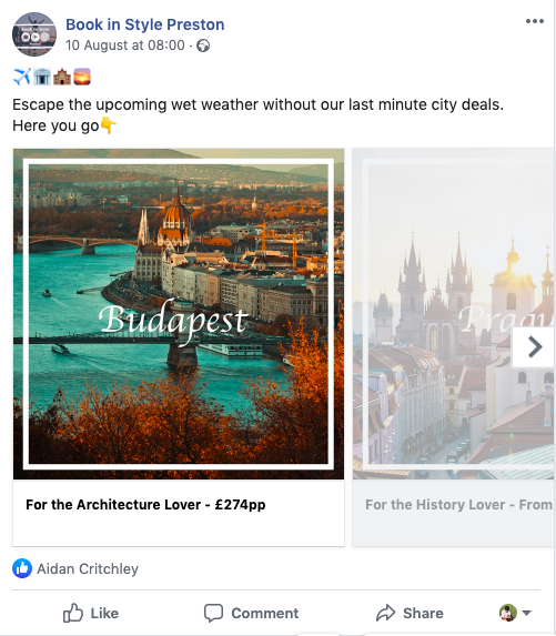 Travel Agent Offers Image
