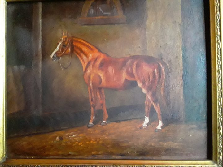 Small horse in oil 3